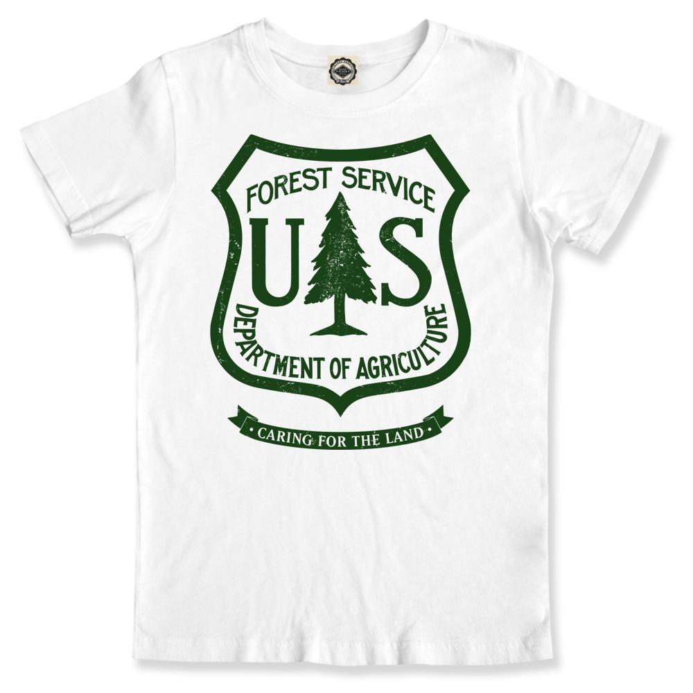 United States Forest Service National Park Toddlers Football Jersey T-Shirt