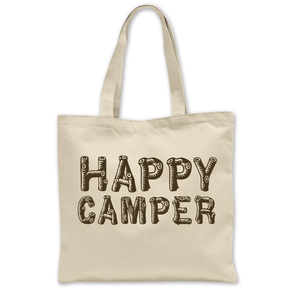 Happy Camper Tote Bag Hank Player U.S.A
