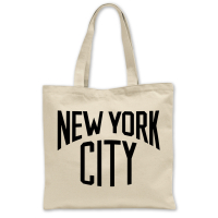 New York Canvas Bag//Tote Bag New York Made in Britain
